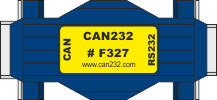 CAN232 adpater for RS232