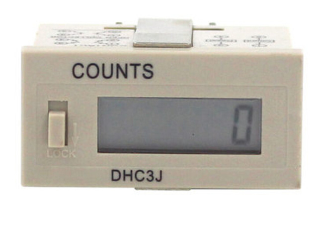 LCD counter 999999