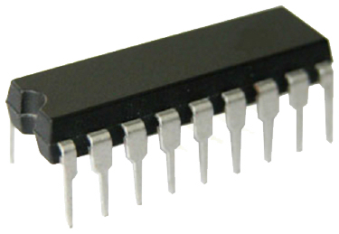 Microchip 18 pin CPU