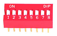 DIP8 Switch