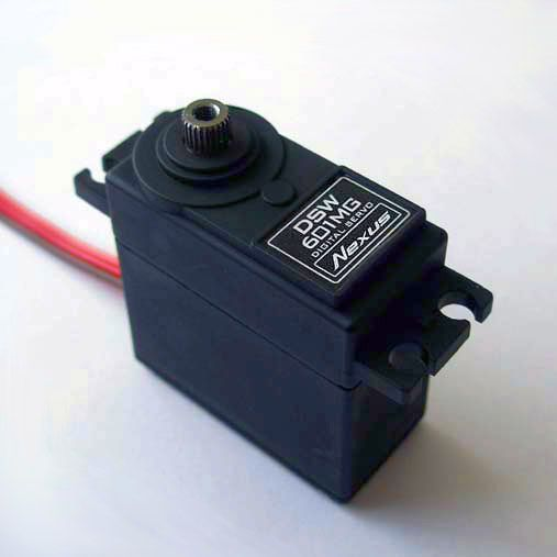 Nexus high-speed, digital power servo-NE-DSW601MG