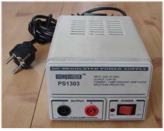 PS1303 the DC power source 230VA13V 3A