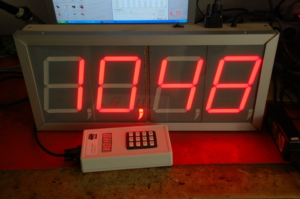 LED Theatre actor time lapse meter