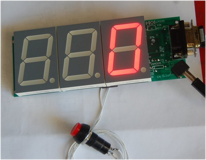 LED Accident Display